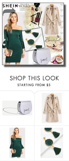 """""""SheIn 10 / XXI"""" by selmamehic ❤ liked on Polyvore featuring Fountain and Wall Pops!"""