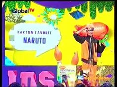 Naruto Shipudden Kartun Terfavorite - Indonesia Kids Choice Award 2015