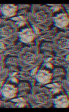 Roses Hippie Wallpaper, Trippy Wallpaper, Hippie Art, Hippie Style, Bizarre, Phone