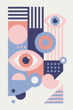 """""""Play With Your Egos"""" — pattern illustration (backside design) for the special edition of Playing Arts. Additional graphic posters, letter…"""