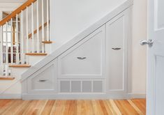 Tremendous cool, enjoyable and intelligent space-saving stairs and staircase concepts together with storage beneath stairs, bogs beneath stairs, kitch. Corner Storage, Stair Storage, Staircase Storage, Stair Drawers, Wooden Stairs, Storage Hacks, Storage Ideas, Storage Design, Food Storage
