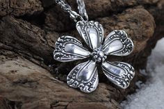 Spoon Necklace: Petunia by Silver Spoon Jewelry by silverspoonj