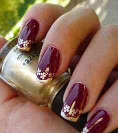 Wedding-Nail-Art-Pictures-and-Ideas-Black-Red