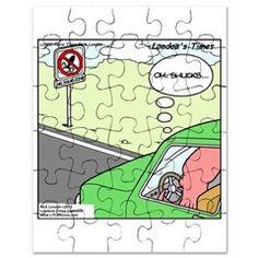 #Funny #Squid #Puzzle @LTCartoons @cafepress 25%off Code 25FALL Ends 2nite 11:59PT #humor #bizarre