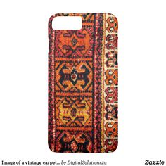 Image of a vintage carpet. Impressive texture iPhone 8 Plus Case - classic gifts gift ideas diy custom unique Textured Carpet, Patterned Carpet, Funny Phone Cases, Iphone Cases, Persian Carpet, Carpet Runner, Cool Diy, Iphone 8 Plus, Runners
