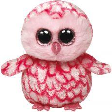 Ty Beanie Boo - Uil 15 cm roze|TY|alle merken|speelgoed - Vivolanda