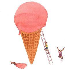 Giant Ice cream - Hooray!