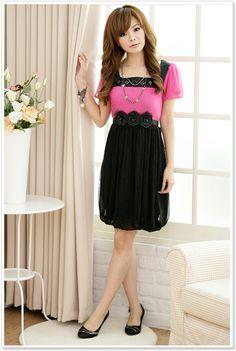 Cute Style Korean Fashion Dress Wholesale D2209 Red - Wholesale ...    #fashion #cute