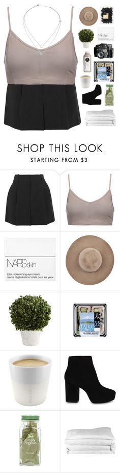 """it's my birthdayyyyy"" by scattered-parts ❤ liked on Polyvore featuring Chloé, Live the Process, NARS Cosmetics, Eugenia Kim, Pier 1 Imports, Eva Solo, ALDO, Frette and Michael Kors"