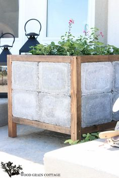 Diy Paver Planter