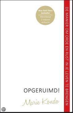 Recensie: 'Opgeruimd!' van Marie Kondo http://www.kiddowz.net/…/recensie-opgeruimd-van-marie-kondo/ Boek 35/53 #boekperweek