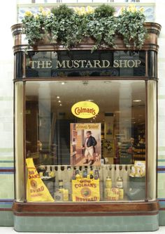 Shopping - The Colmans Mustard Shop  I used to love shopping here when we were stationed in England.