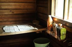 vanha sauna / old sauna