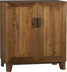 Marin Bar Cabinet in Wine Bars, Wine Cabinets | Crate and Barrel