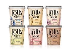 Packaging of the World: Creative Package Design Archive and Gallery: Jolly Nice