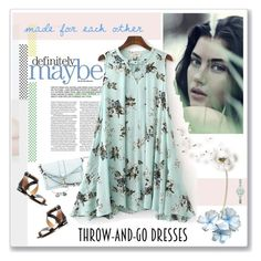 """""""Easy Peasy: Throw-and-Go Dresses"""" by likepolyfashion ❤ liked on Polyvore featuring Rebecca Minkoff, MICHAEL Michael Kors, Emporio Armani, Chrysalis, easypeasy and throwandgo"""