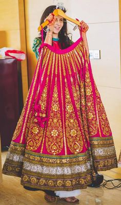 sabyasachi beautiful gold work pink lehenga for weddings Indian Bridal Wear, Indian Wedding Outfits, Bridal Outfits, Indian Wear, Indian Outfits, Indian Style, Bride Indian, Bollywood, Bridal Lehenga