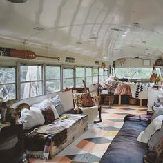 A remarkable school bus conversion is often known as a skoolie. With housing costs rising, a school bus conversion seemed Read more. Buy A School Bus, School Bus House, Bus Living, Tiny House Living, Camping Con Glamour, Converted Bus, Kombi Home, School Bus Conversion, Tiny House Nation