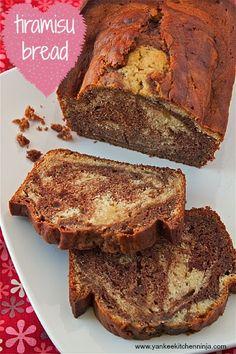 I might have to make this for you! Tiramisu bread | yankeekitchenninja.com