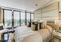 3 bedroom property for sale in The Penthouse, Harrington Road, South Kensington, - Rightmove. 3 Bedroom Flat, Double Bedroom, London Property, Property For Sale, Penthouse For Sale, Home Automation System, Pent House, Apartments For Sale, Beautiful Bedrooms