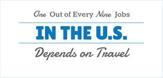 Love these Voter Resources by US Travel! One Out of Every Nine Jobs in the US Depends on Travel.