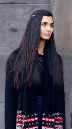 Hair length goals. I don't want it any longer than that. Tuba Buyukustun. One of my favorite Turkish actresses
