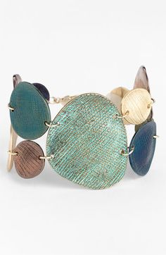 Nordstrom 'Patina' Line Bracelet | Nordstrom (TOO BAD THIS BRACELET WAS CLEARANCED OUT AT NORDSTROM.COM BUT IT IS VERY COOL ANYWAY...)