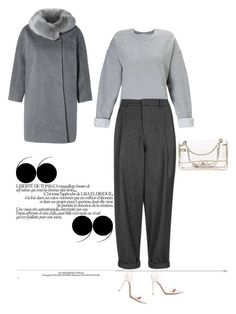 """""""Untitled #648"""" by diaval ❤ liked on Polyvore featuring Gianvito Rossi, Chanel, Miss Selfridge and Topshop"""