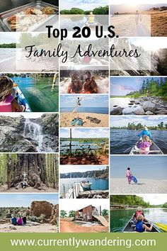 Outdoor Travel ideas For three years, our family has explored the United States while traveling full time in our Airstream trailer. Check out our Top 20 Adventures to get ideas for your upcoming vacation with your loved ones!