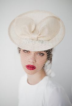 Pure beauty.  Hats and headpieces for your perfect spring look!