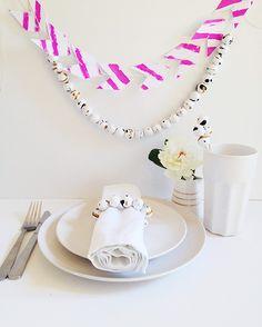 Make   party | Paint splatter party decorations