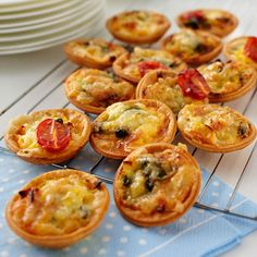 Bacon, Egg and Cheese Tartlets | Recipe | Everyday Delicious Kitchen