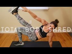 Total Body Shred by Kristin - YouTube