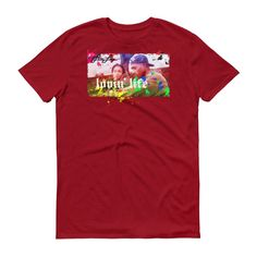 Lovin' Life Poetic Love t-shirt