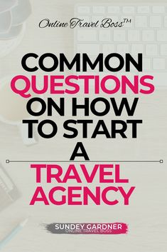 Thinking to start an online travel agency business here are common questions answered on how to start a travel agency click through to find out travelagency howtostartatravelagencybusiness onlinetraveagencybusiness travel agency Sweden Travel, Spain Travel, Hawaii Travel, Family Vacation Destinations, Vacation Deals, Become A Travel Agent, Travel Agent Career, Travel News, Travel Hacks