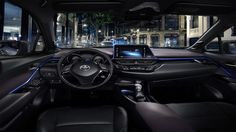 Toyota C-HR crossover's interior is as funky as the outside - Autoblog