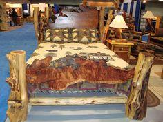 Cedar Log Furniture Plans | true handcrafted rustic log original. Designed and crafted using ...