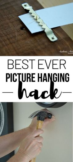 Fantastic Household hacks tips are offered on our site. look at this and you wont be sorry you did. Picture Hanging Tips, Hanging Pictures On The Wall, Hang Pictures, Cleaning Painted Walls, Diy Home Repair, Thing 1, H & M Home, Home Repairs, Do It Yourself Home