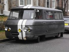 commer van,penzance jan 2013. by rustdreamer, via Flickr