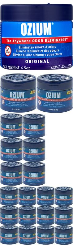 Air Fresheners 166724 Ozium Smoke And Odors Eliminator Gel Home Office Car