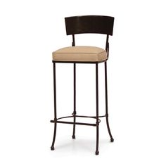MARTINI IRON OUTDOOR BARSTOOL 44H by PALECEK