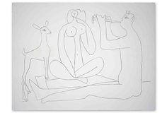 Pablo Picasso, Mes Dessins D'Antibes III on OneKingsLane.com