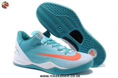 615315 Kobe 8 System MC Mambacurial FB Calypso Blue White Siren Red For Wholesale Kd 6 Shoes, Nike Kobe Shoes, New Jordans Shoes, Air Jordan Shoes, New Shoes, Sneakers Nike, Cheap Shoes, Jordan Nike, Kobe Bryant Basketball Shoes