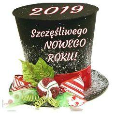 Kartka świąteczna 🍷🍷🍷🍷🍷 Happy New Year 2019, Snow Globes, Decor, Decoration, Decorating, Deco, Embellishments