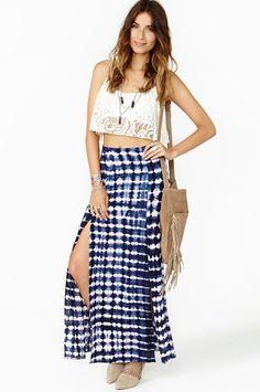 #nastygal.com             #Skirt                    #Delirium #Maxi #Skirt    Delirium Maxi Skirt                                 http://www.seapai.com/product.aspx?PID=1408816