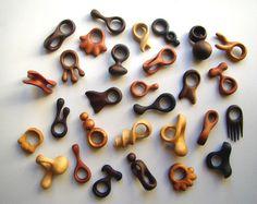 Wood rings by Mauro Fuke