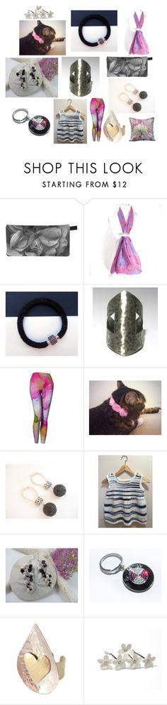 """""""Grey and Pink"""" by anna-recycle ❤ liked on Polyvore featuring BMW, modern, rustic and vintage"""