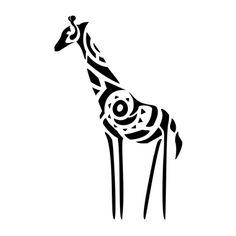 Giraffe tattoo - Here my tattoo - Find your tattoo online!
