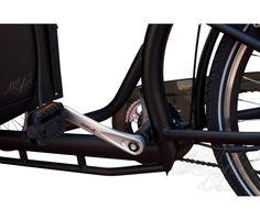 Triciclo eléctrico transporte personas