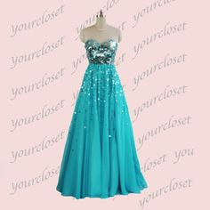 Sweetheart ball gown prom dress / evening dress from Your Closet